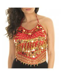 Belly Dance Top with Bra Cups