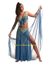 Salamander Belly Dancing Costume