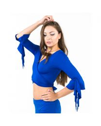 Belly Dance Top with Frills