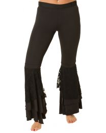 Belly Dance Harem Pants with Lace