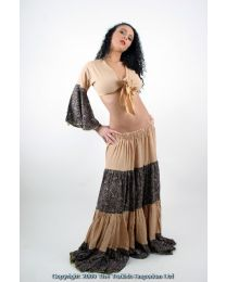 Gypsy Tribal Belly Dance Costume Top & Skirt