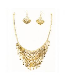 Belly Dance Necklace & Earrings Jewellery Set