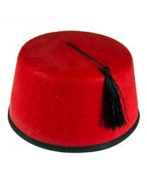 Turkish Ottoman Tommy Cooper Dr. Who Fez Red