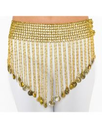 Stretch Coin Belt For Belly Dance