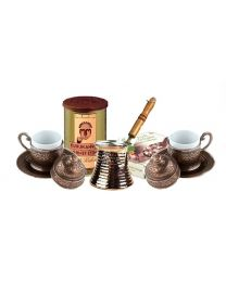 Coffee Set with Turkish Delight