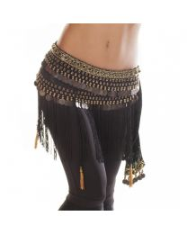 Belly Dance Tribal Belt With Fringe