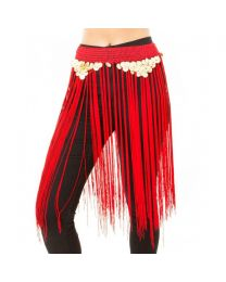 Belly Dance Fusion Tribal Fringe Skirt