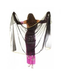 Decorated Belly Dance Veil